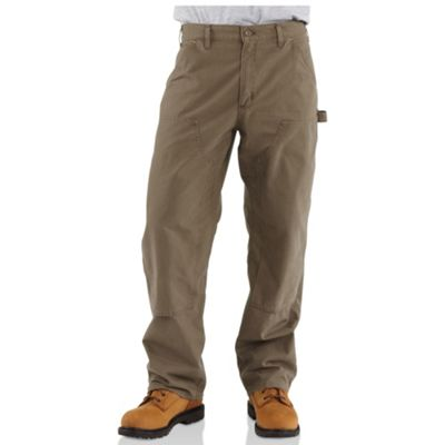 Carhartt Men's Double Front Canvas Work Dungaree Pant