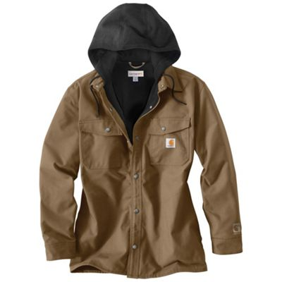 Carhartt Men's Quick Duck Roane Hooded Shirt Jacket