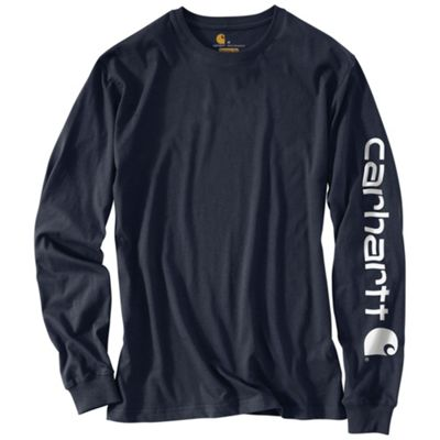 Carhartt Men's Signature Sleeve Long Sleeve T-Shirt