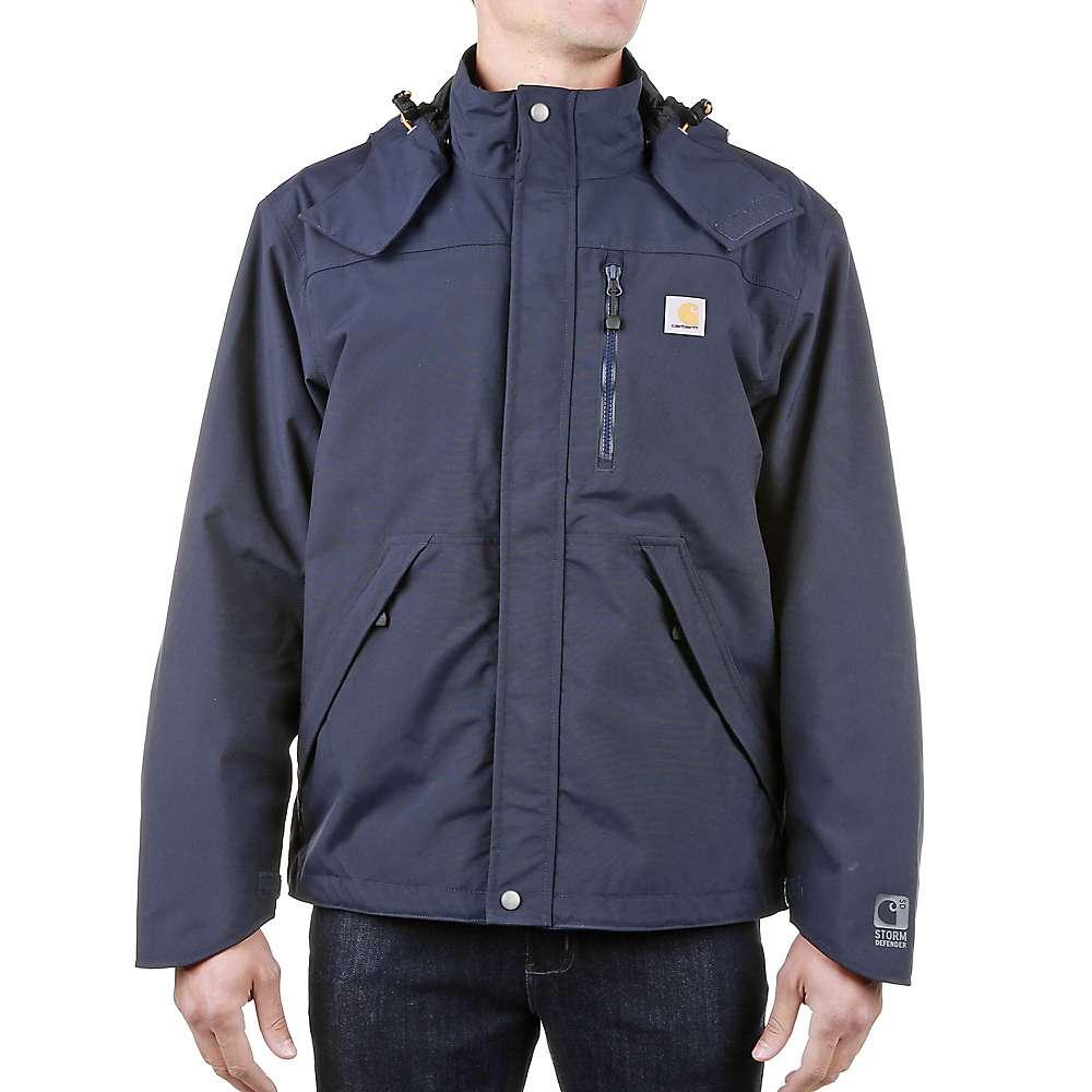 Carhartt men 39 s shoreline jacket at for Bass fishing rain gear