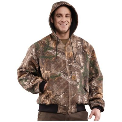 Carhartt Men's Thermal Lined Camo Active Jac Jacket