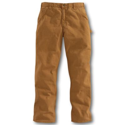 Carhartt Men's Washed-Duck Work Dungaree Pant