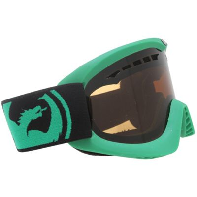 Dragon DX Goggles Pop Red/Jet + Amber Lens - Men's