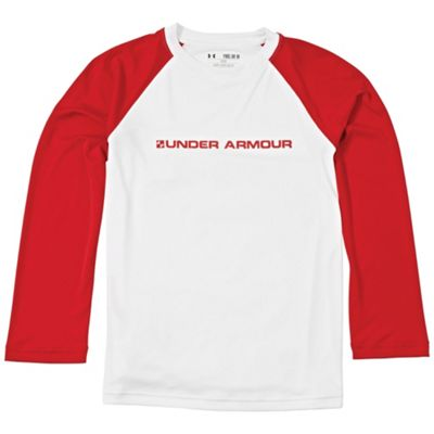 Under Armour Boys' UA Indopass Long Sleeve Top