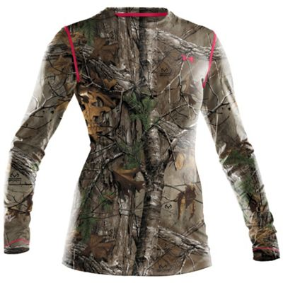 Under Armour Women's UA Scent Control EVO HG Camo Long Sleeve Tee