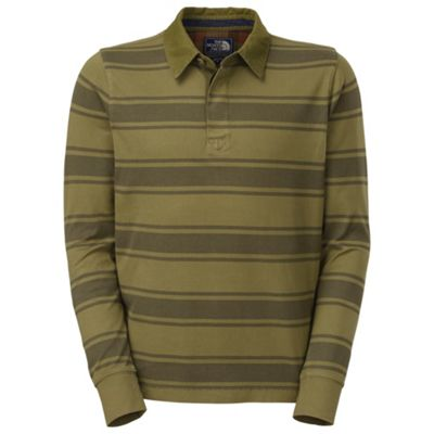 The North Face Men's L/S Wedgewood Polo