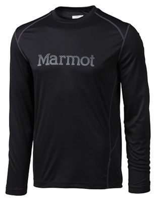 Marmot Men's Windridge with Graphic Long Sleeve Shirt