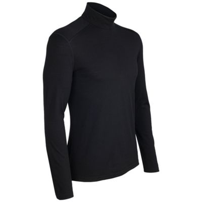 Icebreaker Men's Oasis Long Sleeve Turtleneck Top