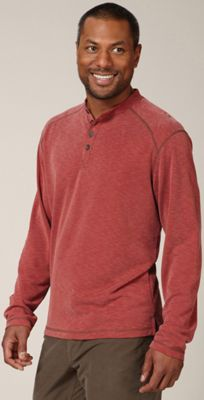 Royal Robbins Men's Desert Knit Long Sleeve Henley Shirt