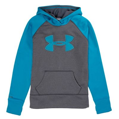 Under Armour Girls' Armour Fleece Storm Big Logo 2.0 Hoody