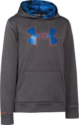 Under Armour Boys' UA Armour Fleece Storm Big Logo Hoody