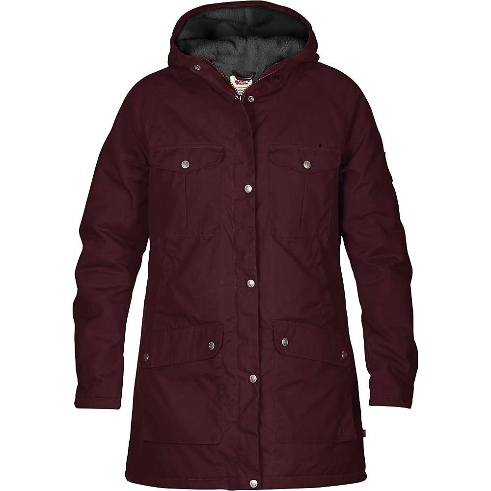 Fjallraven hooded parka coat