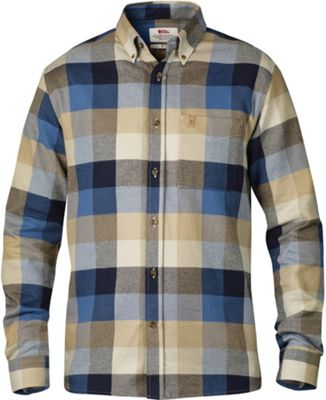 Fjallraven Men's Ovik Big Check Long Sleeve Shirt