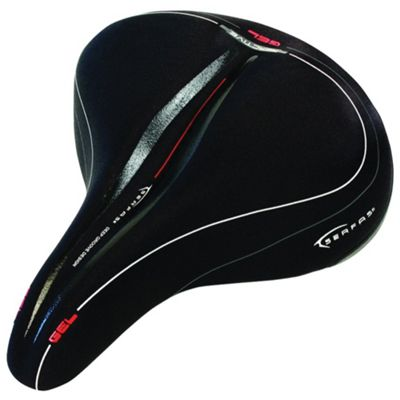 Serfas CR-762 Cruiser on Rails Reactive Gel Saddle