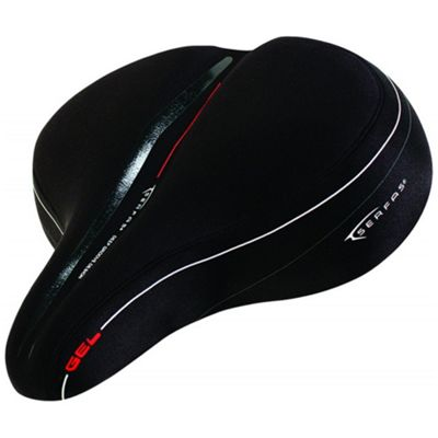 Serfas Women's FS-CR Cruiser Reactive Gel Saddle