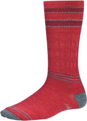 Smartwool Women's Metallic Striped Cable Sock