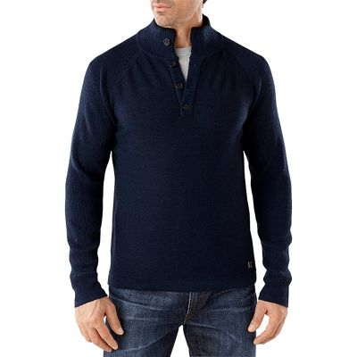 Smartwool Men's Pioneer Ridge Half Button Sweater