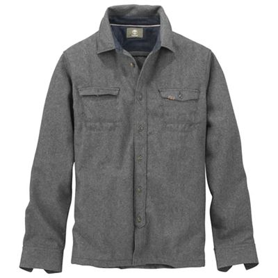 Timberland Men's Long Hubbard River Wool Overshirt