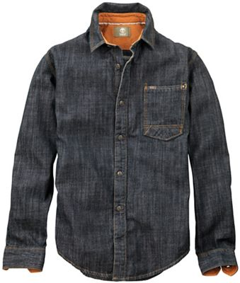 Timberland Men's Long Sleeve Slim Mumford River Denim Overshirt