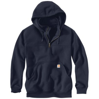 Carhartt Men's Rain Defender Paxton Heavyweight Hooded Zip Mock Sweatshirt