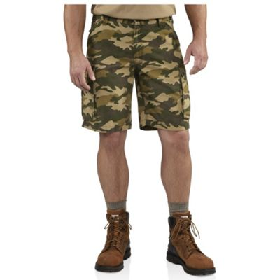 Carhartt Men's Rugged Cargo Camo Short