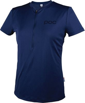 POC Sports Women's Trail Light Zip WO Tee