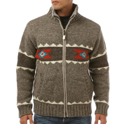 Laundromat Men's Navajo Fleece Lined Sweater