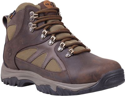 Timberland Men's Bridgeton Mid Fabric and Leather Waterproof Boot