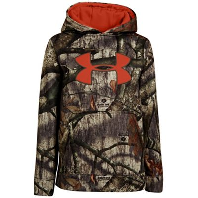 Under Armour Boys' Camo Big Logo Hoody