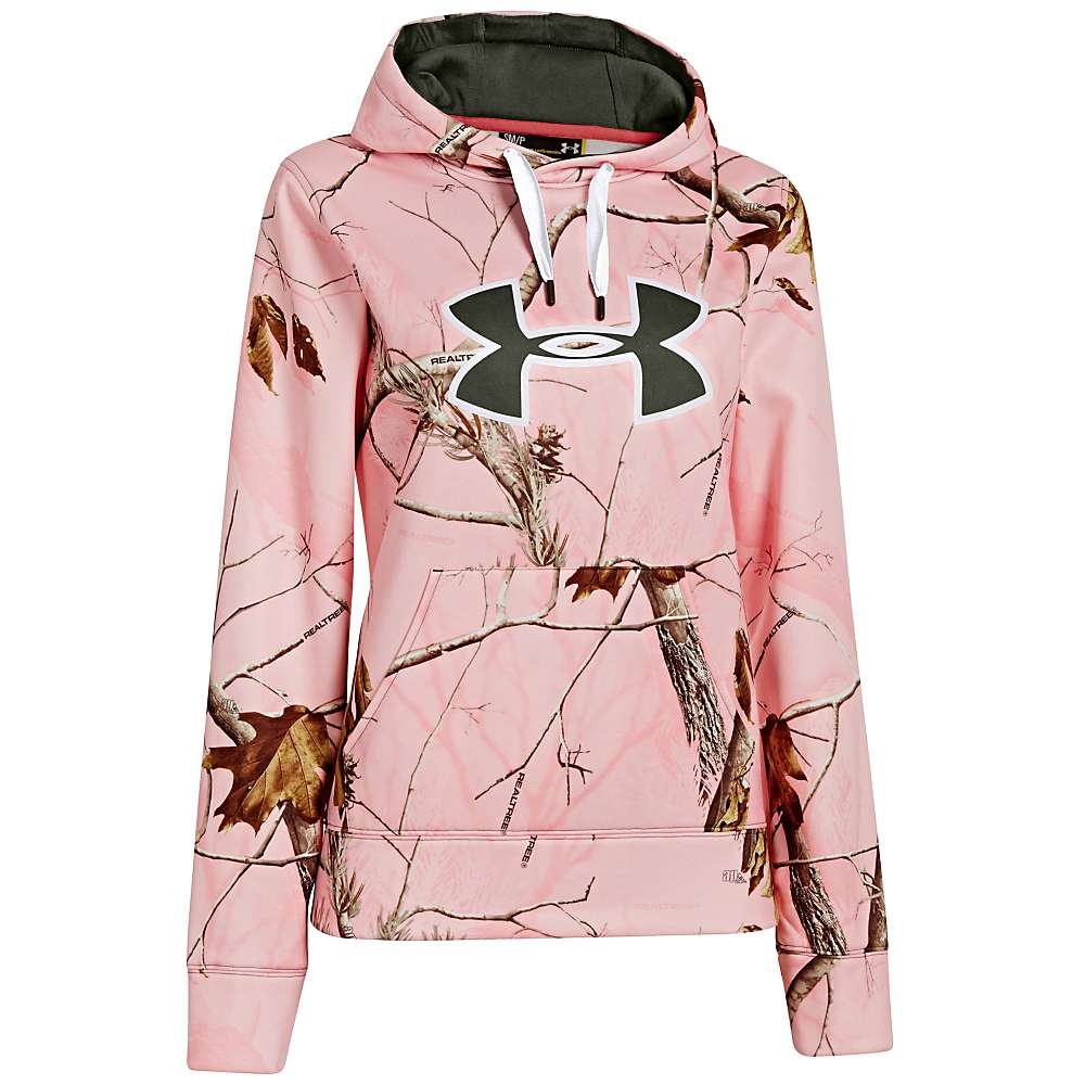 Under armour white camo hoodie