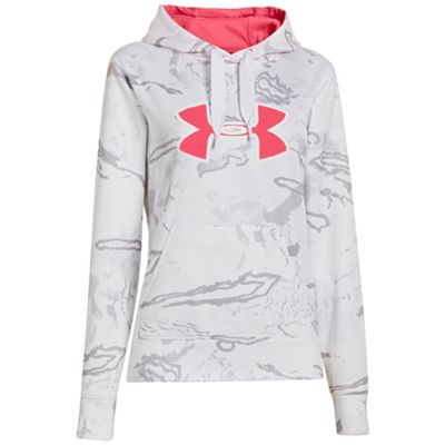 Under Armour Women's UA Camo Big Logo Hoody