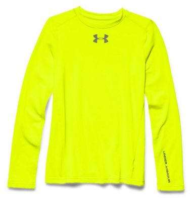 Under Armour Boys' Coldgear Evo Fitted Long Sleeve Crew