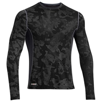 Under Armour Men's Heatgear Sonic Fitted Printed Long Sleeve Tee