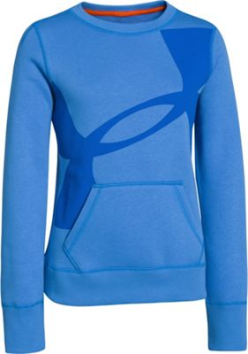 Under Armour Girls' Rival Cotton Crew