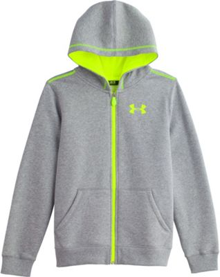 Under Armour Boys' Rival Cotton FZ Hoody