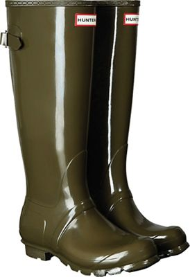 Hunter Women's Original Back Adjustable Gloss Boot