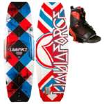 Liquid Force Fusion Wakeboard w/ Transit Bindings - Men's