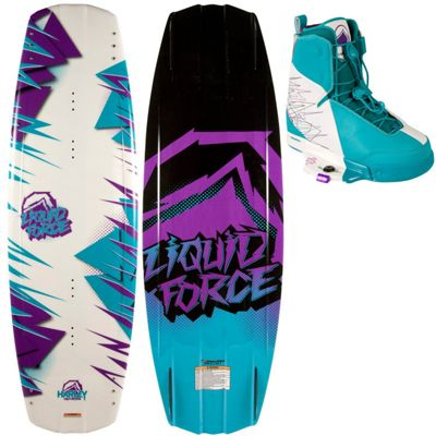 Liquid Force Harley Wakeboard w/ Harley Bindings - Men's