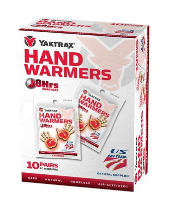 Yaktrax Hand Warmer - 10 Pack
