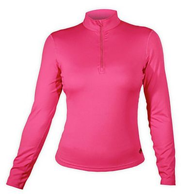 Hot Chillys Women's Micro Elite Chamois 8K Solid Zip T