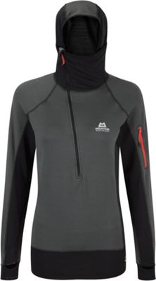 Mountain Equipment Women's Eclipse Hooded Zip Tee
