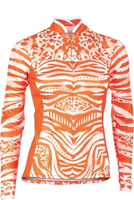 Shebeest Women's Bellissima Tigress Long Sleeve Jersey