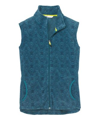 Woolrich Women's Andes Printed Fleece Vest