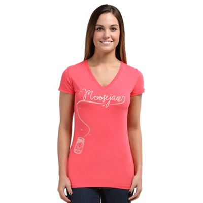 Moosejaw Women's Fly By Night Classic Slim V Neck SS Tee