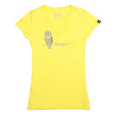 Moosejaw Women's Hoot In Herre V Neck SS Tee