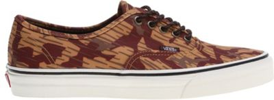Vans Authentic Shoes (Tribe Rug) Red Clay - Men's