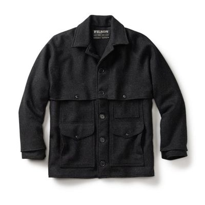 Filson Men's Double Mackinaw Cruiser Jacket