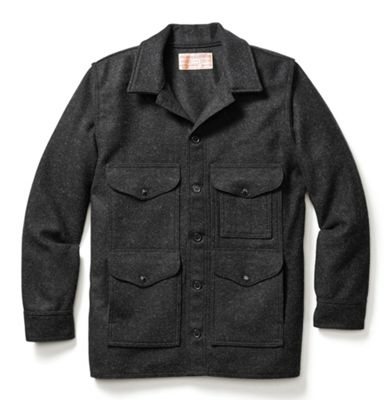 Filson Men's Alaska Fit Wool Mackinaw Cruiser Jacket