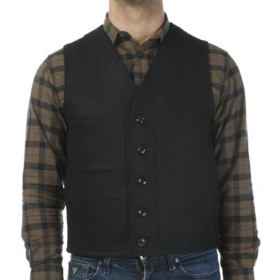 Filson Men's Alaska Fit Wool Mackinaw Vest
