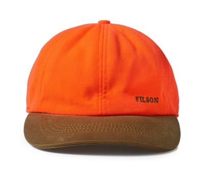 Filson Blaze Orange Insulated Tin Cloth Cap